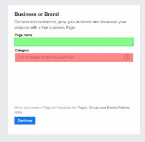 روش ساخت پیج بیزینسی فیس بوک